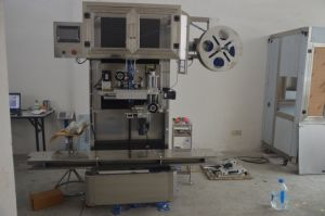 Full Automatic 20L Barrel Label Shrink Sleeve Machine pictures & photos