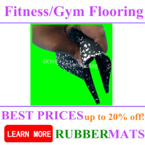 Gym Rubber Flooring SBR Rubber Tile Rubber Mat pictures & photos