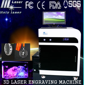 CE ISO TUV Factory 3D Inside Crystal Laser Engraving Machine for Glass Crystals pictures & photos