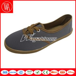 Plain Flat Canvas Shoesspring Men/Women′s Casual Shoes