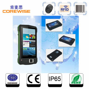 Outside Waterproof Dustproof Drop-Proof High Industrial Standard Rugged Tablet PC with 1d/2D Barcode Scanner pictures & photos