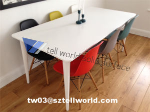 Restaurant Tables and Chair Cheap Cafe Table Modern Marble Dining Set pictures & photos