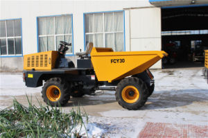 4X4 Wd 3tons Load Mini Farm Site Dumper pictures & photos