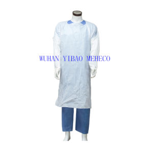 Disposable Plastic Visit Coat (HG74702)