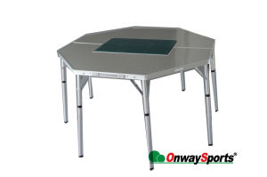 Aluminum Folding Octagon BBQ Table