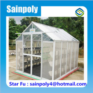 Small Commercial Used PC-Sheet Garden Greenhouse pictures & photos