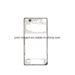 New OEM Replacement Back Rear Housing Frame Bezel Plate with Adhesive Sticker for Sony Xperia Z1 L39h C6903 pictures & photos