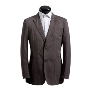 Men′s Fashion Grey Tailored Casual Suit pictures & photos