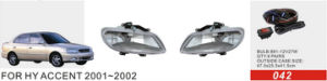 Front Fog Lamp for Hy Accent 2001~2002