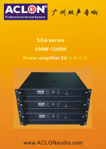 2u 1800W PRO Audio Power Amplifier (SDA1200) pictures & photos