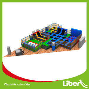 Supermarket Air Jump Big Bouncy Jumperoo Trampoline with ASTM Quality pictures & photos