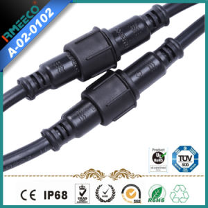 Hot Sales Waterproof Cable Connector 3 Pins