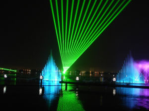 China out Door 3W RGB Full Color Waterproof Laser Light