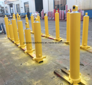 Four Stage Telescopic Hydraulic Cylinder for Sale pictures & photos