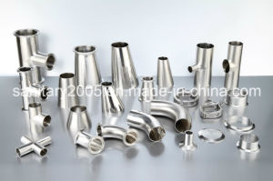 Ss304 Quality Sanitary Fittings for Mixing Tanks