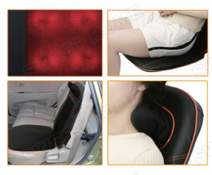 Electric Neck and Back Shiatsu Kneading Car Seat Massage Cushion pictures & photos