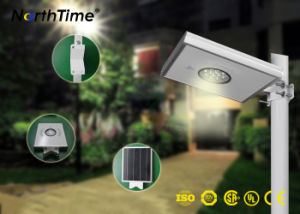 Renewable Solar Energy Outdoor Lighting Lamps with PIR Sensor pictures & photos