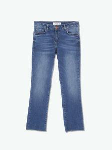 High Waist Pencil Denim Women Jeans pictures & photos