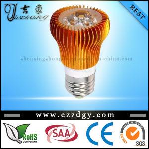 3X3w Cool/Warm White Orange Mushroom E27 LED Light