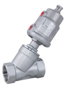 Manufacturer Pneumatic Stainless Steel Thread Ends Bsp/BSPT/NPT Angle Seat Valve pictures & photos