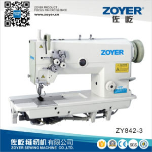 Zoyer Twin 2-Needle Double Needle Lockstitch Industrial Sewing Machine (ZY842) pictures & photos