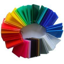 Colored PMMA Sheet for Advitisement pictures & photos