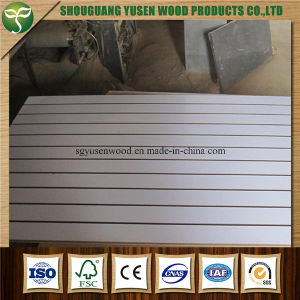Slat Wall MDF Grooved Panels pictures & photos