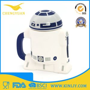 Cheap Ceramic Star Wars Tea Cup Coffee Mug with Lid pictures & photos