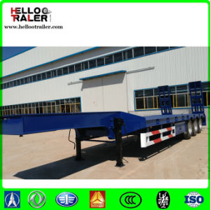 Heavy Cargo Low Bed Semi Trailer pictures & photos