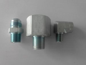 Male / Female Thread Hydraulic Adapters pictures & photos