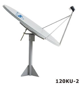 120cm Offset Satellite Dish Antenna for TV Receiving pictures & photos