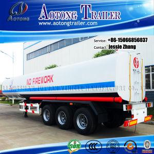 3 Axles Oil Tanker Semi Trailer 40cbm pictures & photos
