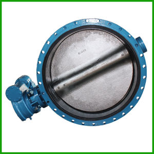 Rubber Seat Flange Butterfly Valve-Concentric Butterfly Valve pictures & photos