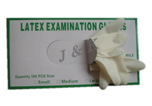 Medical Latex Gloves Protection Gloves Work Gloves Rubber Gloves pictures & photos