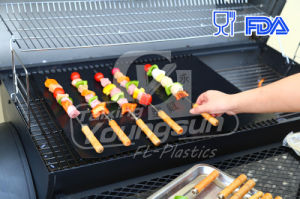Reusable Easy Cleaning BBQ Mat Oven Liners pictures & photos