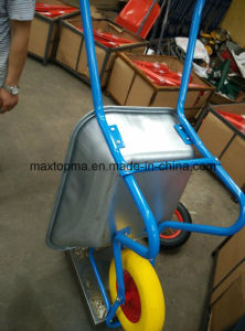 PU or Solid Wheel Wheelbarrow Wb5009 pictures & photos