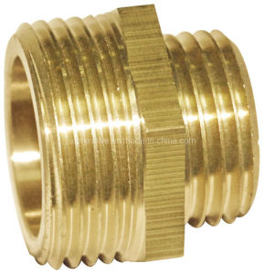 Brass Reducing Pipe Nipple (a. 0309) pictures & photos