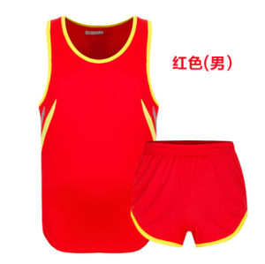 Breathable Unisex Athletic Garment Custom Blank Sports Running Uniforms pictures & photos