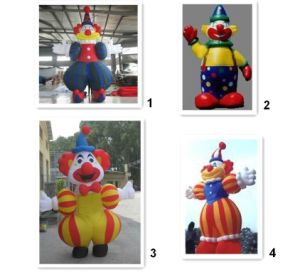 Outdoors Decorative PVC Inflatable Clown pictures & photos