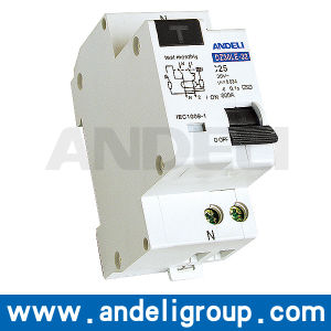 1p+N Residual Current Operated Circuit Breaker RCBO (DZ30LE-32) pictures & photos