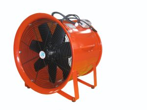 500mm 20 Inch 220V Axial Blower Fan in Red pictures & photos