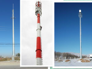 Landscape Monopole Antenna Telecommunication Tower pictures & photos