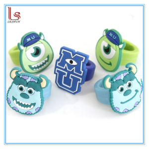 Custom Wholesale Monsters University Silicone Rings for Kids pictures & photos