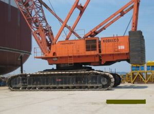 Crawler Crane 50t, Kobelco Japan 50t, 25t, Kh7450 pictures & photos