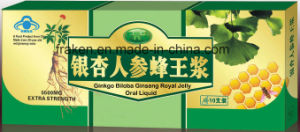 Ginseng Royal Jelly Been Pollen Oral Liquid / Green Tea Ginseng Royal Jelly Oral Liquid / Ginkgo Biloba Ginseng Royal Jelly Oral Liquid pictures & photos