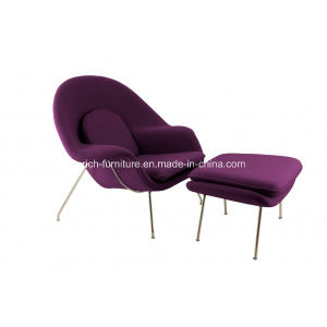 Lounge Womb Chair with Stainless Steel Frame and Fabric Upholstery pictures & photos