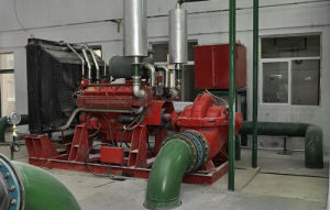 Split Casing Double Suction Fire-Fighting Pump with Diesel Engine pictures & photos