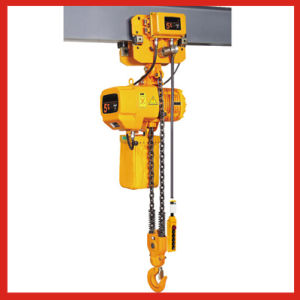 International Certificated Electric Chain Hoist for Sale pictures & photos