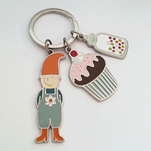 Fancy Full Color Keychain with Custom Logo (F1160) pictures & photos