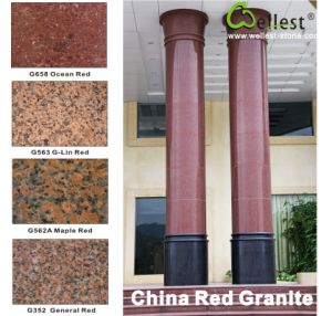 China White/Grey/Black/Red/Pink/Beige Granite Tile for Paving Stone/Floor/Wall Cladding pictures & photos